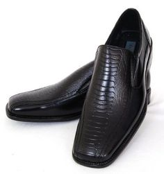 Struzzo Mens Dress Shoes Classic Slip On Loafers Ostrich Print - Free Shoe Horn & Shoe Bags with Each Purchase Delli Aldo. $24.99