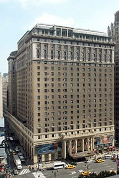 """Hotel Pennsylvania, NYC   """"Pennsylvania 6500!"""" Stayed here on our first trip to NY, November 2011"""