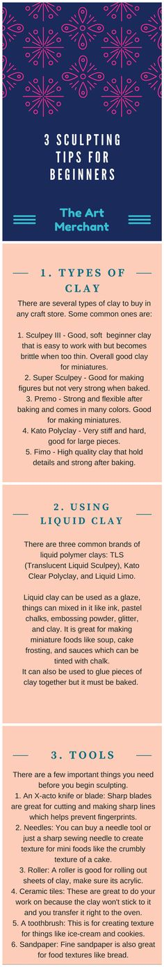 Here are some tips I put together for beginners working with clay. Hopefully it…
