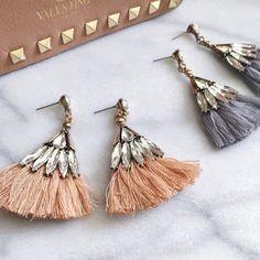 ed3a9382e1 Monaco Glam Tassel Earrings - 13 COLORS!