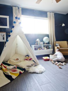 cozy reading corner!