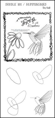 Doodle101hummingbirdSueCarroll