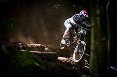 Eliot Jackson pinned through the forrest. Windham, World Cup.