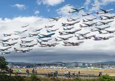 Mike Kelley's stunning photos of air travel - INSIDER