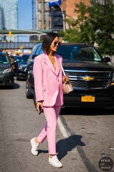 New York SS 2018 Street Style: Aimee Song