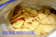 Overcoming Mindless Eating