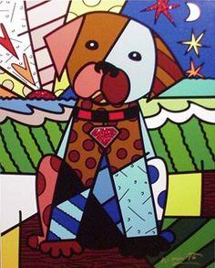 Tomorrow by Romero Britto- nice for puppy nursery