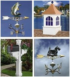 Barn and Garage Cupolas, Weathervanes, Country Mailboxes and more at TheCountryGentleman.com