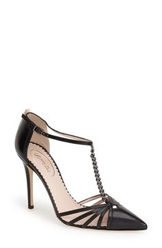 SJP by Sarah Jessica Parker SJP 'Carrie' T-Strap Pump (Women) available at #Nordstrom