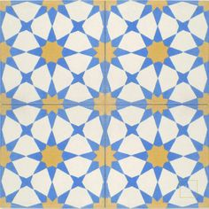 """Snowbank C14-11-15 square, patterned, cement tiles are $27.50 per square foot. Each tile measures 8""""x8"""". If you order more than 30 SF in total, we can offer you a 20% Trade Discount (making the tile $22 per SF)."""