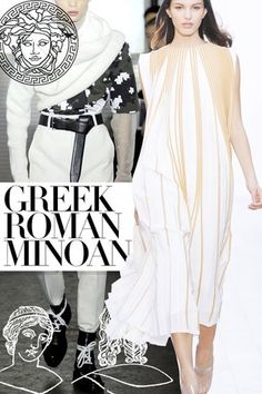 Greek, Minoan  & Roman...  How does it influence our fashion today?