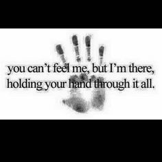 I'm right there with you baby. In your heart. In your thoughts. Always...