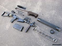 AS VAL, disassembled.