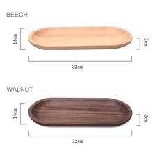 2 materials available  Product information Material: Walnut / Beech  Length: 32cm Width: 14cm Thick: 2cm Weight: 0.29kg (Walnut) / 0.34 (Beech)    Care instructions Handwash only  Environment Renewable material (wood)    For more trays: https://www.etsy.com/hk-en/listing/235185238  Registered mail / Priority and Express shipping available  Follow us on Instagram: cchousewares Follow us on Twitter: https://twitter.com/cchousewares  *** Please note that color of products may vary slightly from…