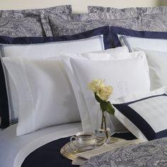Clearance - Lauren Ralph Lauren Lauren Suite Paisley Navy King Comforter - Paisley Navy : The Home Decorating Company