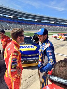 4-4-14 at Texas for Nationwide qualifying with Chase Elliott