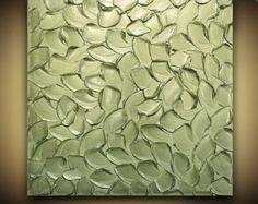 ORIGINAL Silber Wand Skulptur Kunst Silber von ModernHouseArt