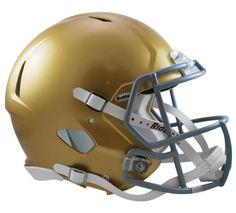 Notre Dame Fighting Irish Helmet - Riddell Authentic Full Size - Speed Style - 2016