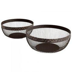 Meshing Around Baskets 2-Piece Set