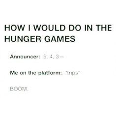 I really would//