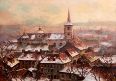 ? St Thomas Church, Paris Skyline, Travel, Painting, Art, Art Background, Viajes, Painting Art, Kunst