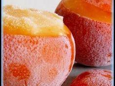 Mandarines givrées - Recette Ptitchef
