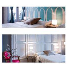 violeta boutique barcelona Hostel, Barcelona, Curtains, Boutique, Bed, Places, Furniture, Home Decor, Blinds
