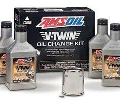 Amsoil Motorcycle oil change pack
