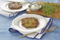 I decided to experiment with Zucchini Latkes when I wanted to explore a gluten-free option for friends. They turned out great. Fresh and light without losing their delectable crunchiness. It appears Zucchini Latkes are catching on. This summer, just after Kosher Recipes, Gluten Free Recipes, Vegetarian Recipes, Cooking Recipes, Healthy Recipes, Jewish Recipes, New Recipes, Holiday Recipes, Hanukkah Recipes