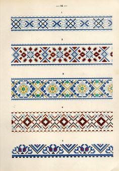 https://flic.kr/p/fQaEXK | Белорусский народный орнамент - 1953_104 | Belarusian ethnic embroidery