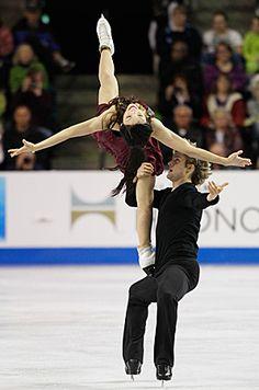Meryl Davis and Charlie White-Skate America