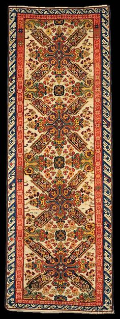 A world class Zeychour long rug