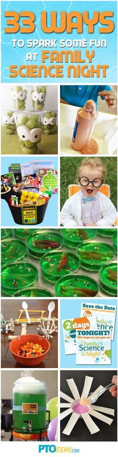 Tons of ideas to making your Family Science Night a success!