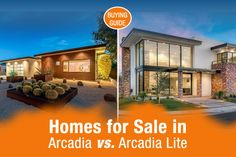 Homes for Sale in Arcadia vs. Arcadia Lite [Buying Guide] - http://www.ostermanrealestate.com/homes-for-sale-in-arcadia/
