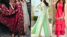 Latest Party Wear Suit Design Ideas | Apply These Tips To Your Next Part... Latest Party Wear Suits, Party Wear Indian Dresses, Kimono Top, How To Apply, Sari, Design Ideas, Tips, How To Wear, Youtube