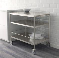 FLYTTA Roltafel | #IKEA #IKEAnl #wit #keuken #woonoplossing