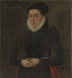 Enkedronning Sophie av Danmark (?) 1591 Euroopan Historia, Surrealistinen Taide, Tumma Taide, Skandinaavinen