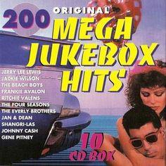 Bate-Boca & Musical: VA - 200 Original Mega Jukebox Hits (2016) 10Cds