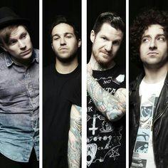 Fall Out Boy Patrick Stump, Pete Wentz, Andy Hurley, and Joe Trohman.