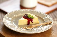 Yogurt cheesecake: Less fat, and still delicious!