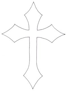 Cross Stencils On Pinterest Gothic Crosses