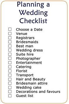 basic wedding checklist printable wedding planning list wedding list diy wedding dream wedding
