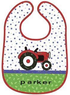Free Sewing Patterns: Tractor Bib