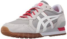 Onitsuka Tiger Womens Colorado EightyFive Classic Running Shoe Medium GreyWhite 10 M US *** You can find out more details at the link of the image.