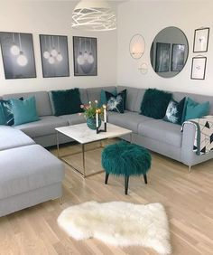 Exceptional small living room designs are offered on our web pages. Read more and you wont be sorry you did. Living Room Ideas 2019, Living Room Decor Cozy, Living Room Color Schemes, Living Room Grey, Living Room Modern, Living Room Interior, Home Living Room, Apartment Living, Living Room Designs