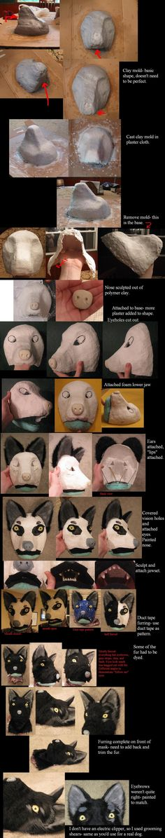 Fursuit process by Animus-Panthera.deviantart.com on @deviantART