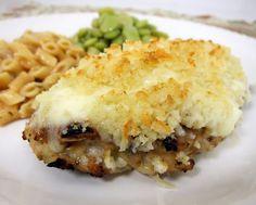 Garlic Parmesan Crusted Chicken   Plain Chicken