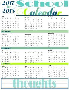 Employee Attendance Calendar Tracker Templates  Printable Uj