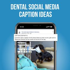Engaging with patients helps dental practices build relationships online. While there are plenty of post ideas out there, coming up with creative dental social media caption ideas can be the. Caption Contest, Instagram Marketing Tips, Dentistry, Captions, Social Media Marketing, Dental, Improve Yourself, Relationship, Relationships