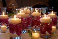 Image result for simple centerpieces